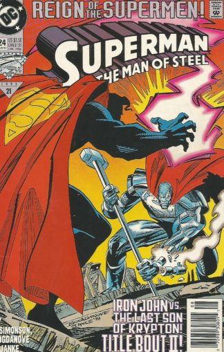Superman: the Man of Steel #24 - Reign of the Supermen